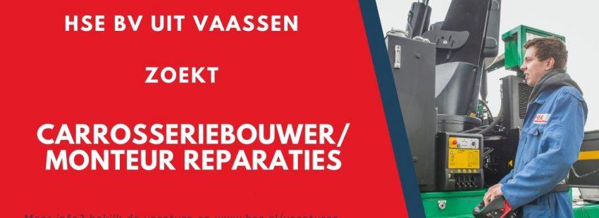 HSE BV uit Vaassen zoekt carrosseriebouwer. Bekijk hier de vacature.