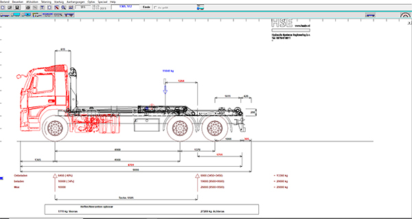 Voor het optimaliseren van voertuig configuraties in de offertefase wordt TrailerWin gebruikt. Hiermee kunnen we met klanten vooraf al verschillende configuraties doorrekenen.